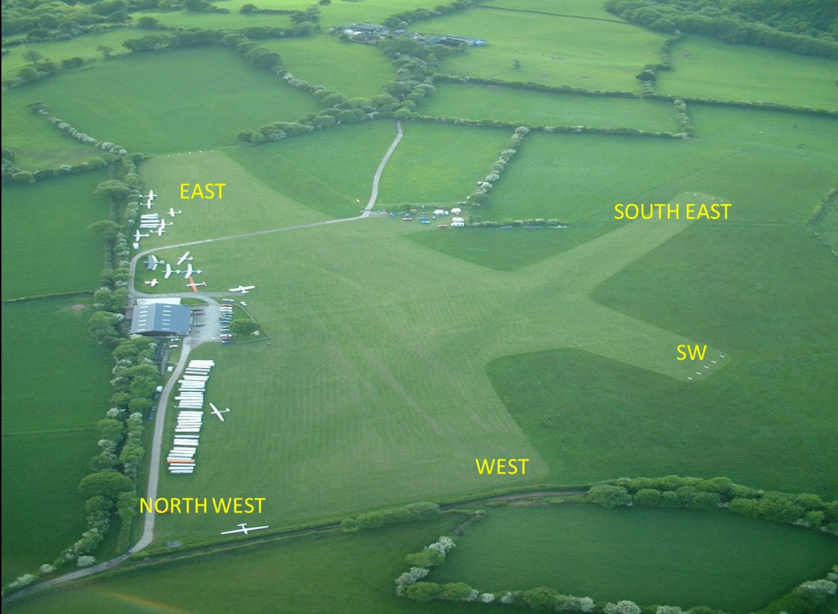 Talgarth Airfield Layout